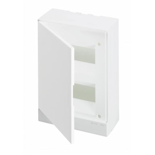 Бокс настенный ABB Basic E 16М белая дверь | 1SZR004002A2105