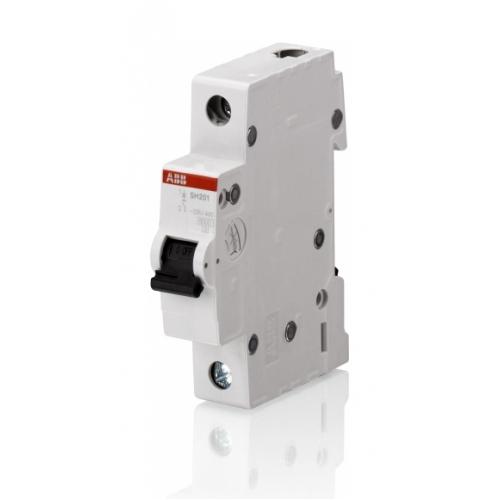 Выключатель автоматический однополюсный ABB SH201L 63А C 4,5кА (SH201L C63) | 2CDS241001R0634