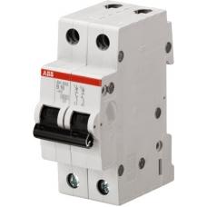 Выключатель автоматический двухполюсный ABB SH202L 16А C 4,5кА (SH202L C16) | 2CDS242001R0164