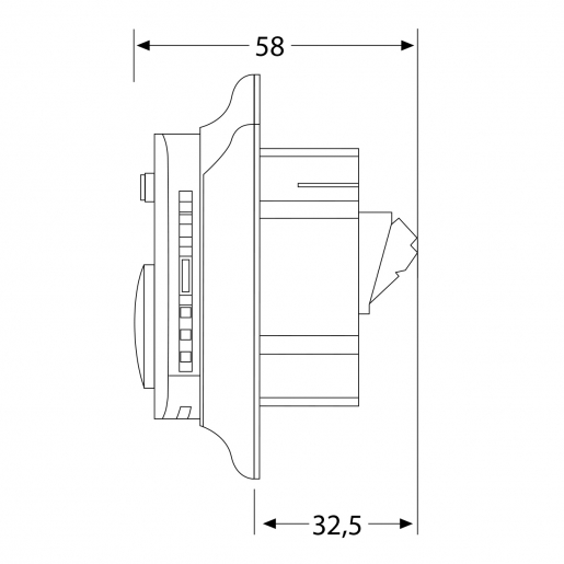 Механический терморегулятор Raychem R-TE