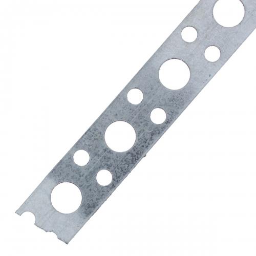 Лента перфорированная 0.5х12 мм 25 м, сталь