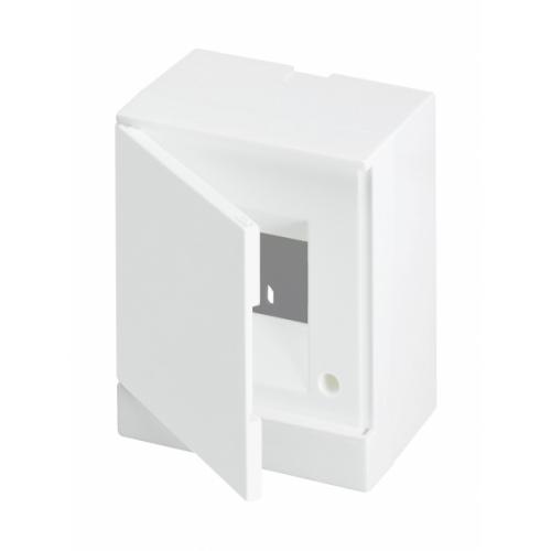 Бокс настенный ABB Basic E 4М белая дверь | 1SZR004002A2101