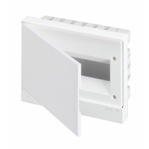 Бокс встраиваемый ABB Basic E 12М белая дверь | 1SZR004002A1104