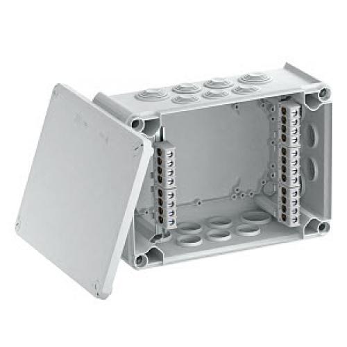 Распределительная коробка OBO Bettermann T350 | 285x201x120 мм | IP66 | с клеммой (T350 KL) | 2007448
