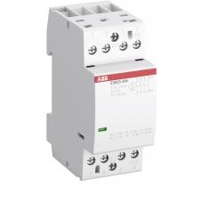 Контактор модульный ABB ESB25-40N-06 (4НО) 230В AC/DC