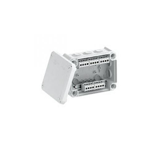 Распределительная коробка OBO Bettermann T100   150x116x67 мм   IP66   с клеммой (T100 KL)   2007436   OBO Bettermann