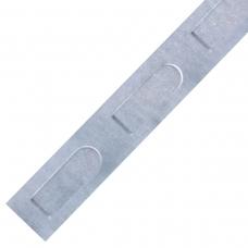 Лента перфорированная, 15 мм, 20 м, сталь