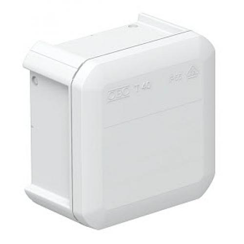 Распределительная коробка OBO Bettermann T40   90x90x52 мм   сплошная стенка (T40 OE)   2007223