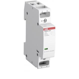 Контактор модульный ABB ESB20-20N-06 (2НО) 230В AC/DC
