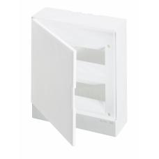 Бокс настенный ABB Basic E 24М белая дверь | 1SZR004002A2107