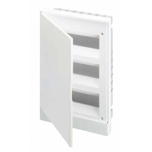 Бокс встраиваемый ABB Basic E 36М белая дверь | 1SZR004002A1109