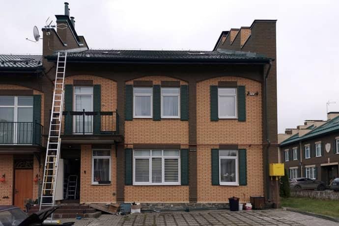 Фотография объекта в городе Щербинка, где выполнялась работа