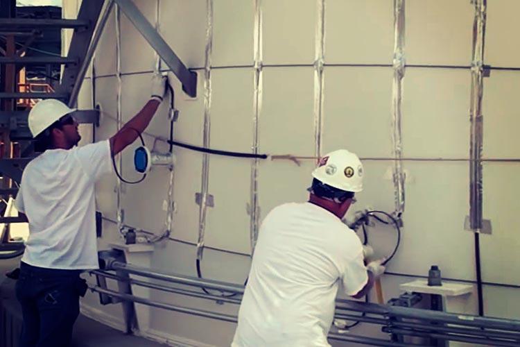 Современный метод обогрева резервуаров